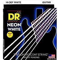 DR NEON HI DEF/E WHITE LITE NWE-9 エレキギター弦×6セット
