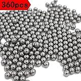 スリングショット 弾 球 8mm スチール パチンコ (360個)
