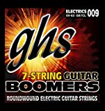 ghs エレキギター弦 Guitar BOOMERS/ギター・ブーマーズ 7弦ギター用 カスタムライト 09-62 GB7CL