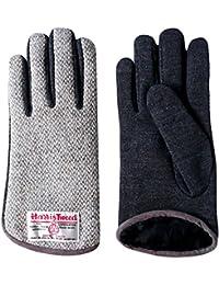 HARRIS TWEED ( ハリスツイード ) マイクロボア グローブ 手袋 メンズ レディース 大人の醍醐味、手袋もちょっと贅沢に