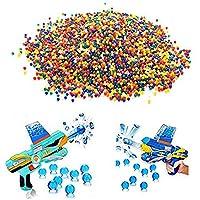 10000個カラフルなクリスタルガンペイントボールソフト水ビーズBullet For Toy GunペイントボールBulletアクセサリー