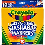 Crayola 10 Ultra-Clean Washable Markers