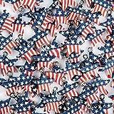 Patriotic Flag Beads