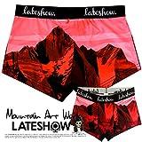 LATESHOW (レイトショー) 8000m峰 14座シリーズ ローライズ ボクサーパンツ マカルー dwearsステッカー入り ボクサー ブランド 男性 下着 誕生日 プレゼント
