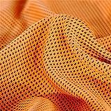 topshion Bestクイックドライタオルバスケットボールの、ヨガ、旅行やテニス軽量スーパー吸収性タオル オレンジ