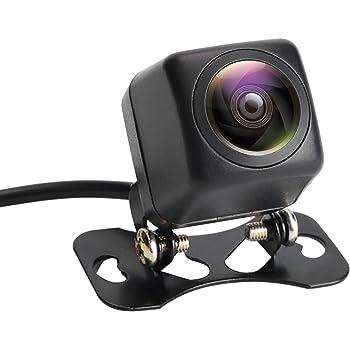 バックカメラ Bedee リアカメラ 夜でも見える 車載バックカメラ 魚眼レンズ 42万画素 高視野角170度 ナビ対応 広角レンズ 高画質 防水 防塵 角型 超小型 高温対策 日本語の説明書