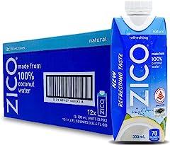 Zico Coconut Water, 330ml (Pack of 12)