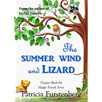 The Summer Wind and Lizard, Chapter Book #4: Happy Friends, diversity stories children's series (English Edition)