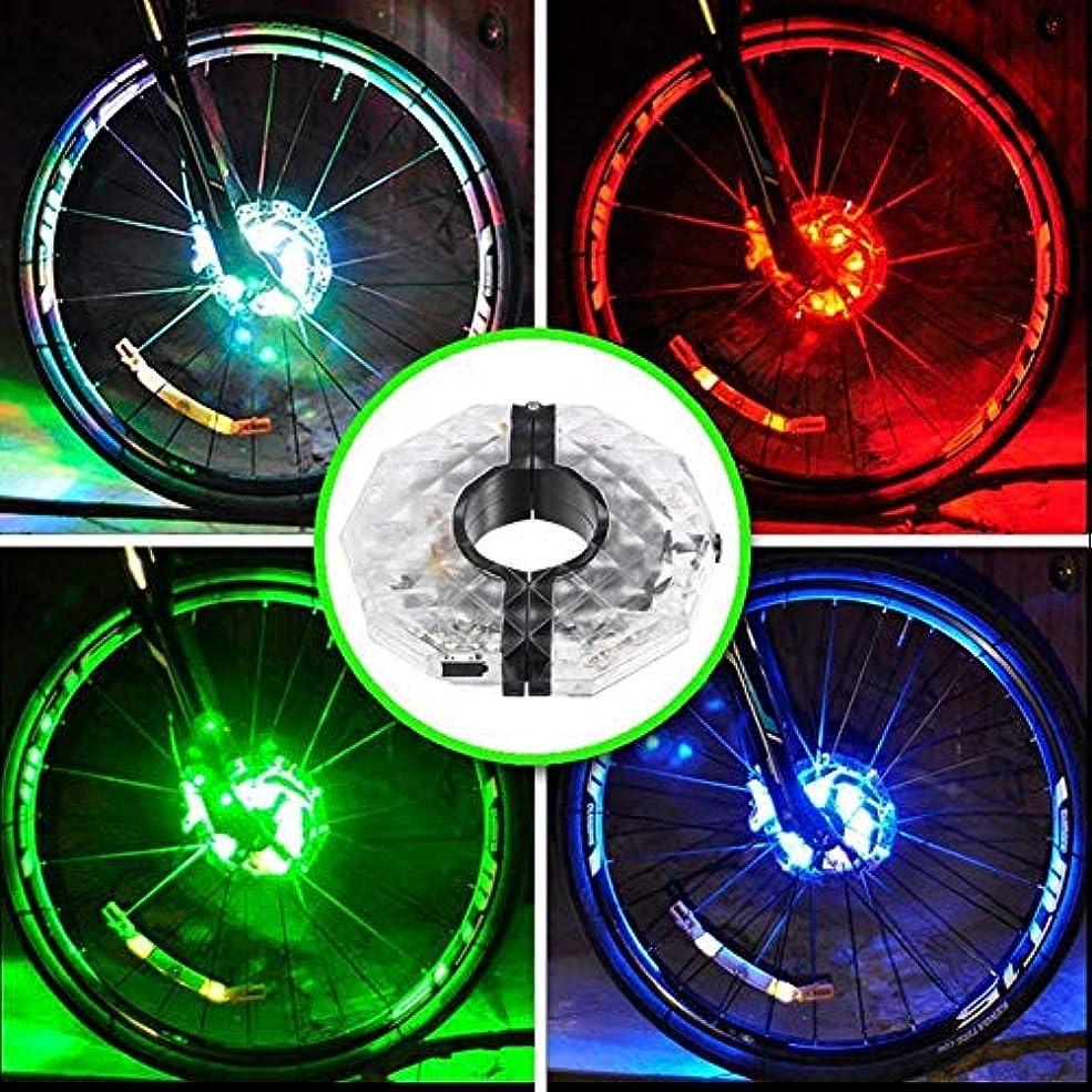 順番スキームいうwangten スポークライト 自転車タイヤライト USB充電ライト 自転車 LEDホイールライト 自転車ホイールライト 車輪用 安全警告ライト