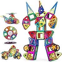 磁石ブロック 磁気おもちゃ マグネット ブロック マグネット 立体パズル 磁石おもちゃ 磁性構築ブロック 磁石付き積み木 創造力と想像力を育てる 学習玩具モデルDIY 子どもおもちゃ 男女の子のおもちゃ 四角 三角 六角 アルファベット 数字カード 車輪 観覧車 手推し車 幾何学認知 児童 ギフ