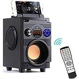 Bluetooth Speaker, TENMIYA 20W Portable Speaker with Subwoofer Impressive Sound, Bluetooth 5.0 Wireless Stereo Party Speakers