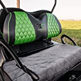 TUYU Golf Cart Seat Covers, Comfortable Plush Golf Cart Seat Blanket, Classic Golf Cart Accessories,Travel Sports Essential G