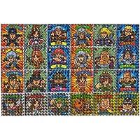 北斗の拳×ビックリマン 北斗のマンチョコ 全24種 コンプセット