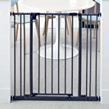 """North States 38.5"""" Wide Extra-Tall Easy-Close Baby Gate: Equipped with triple locking system - Ideal for doorways needing tal"""