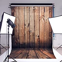 OMG _ Shop 5x 7ft木製壁床写真の背景幕フォトスタジオ背景Studio小道具