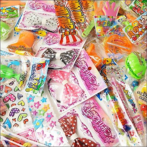おもちゃ色々お楽しみボックス 60個 ピンク箱    22480