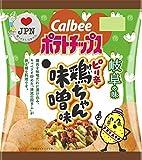 カルビー ポテトチップス ピリ辛鶏ちゃん味噌味 55g×12袋 (岐阜県)
