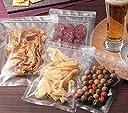 ラミグリップ 平袋 透明蒸着PETタイプ VP-J 1ケース800枚(50枚×16袋) ガスバリア性 保香性優れたチャック袋