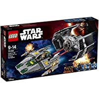 レゴ (LEGO) スター?ウォーズ ダース?ベイダーのTIEアドバンスト vs Aウィング?スターファイター 75150