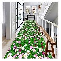 階段 滑り止めマット 廊下カーペット廊下ランナー敷物 カーペット 階段敷物 カスタマイズ可能 カッタブル 滑り止め LQHZWY (Color : A, Size : 1.2X1M)
