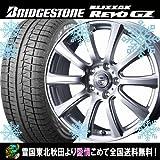 2016年製 スタッドレス 13インチ 155/65R13 ブリヂストン ブリザック REVO GZ ウェッズ デバー10 スタッドレスタイヤホイール4本セット ブリジストン国産車