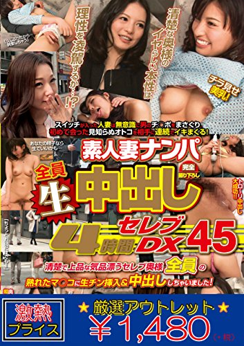[Selected outlet] wife pick up cream pie 4 hours celebrity DX 45 [DVD]