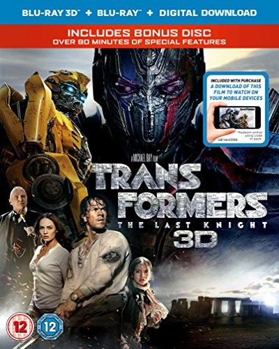 トランスフォーマー/最後の騎士王 (3D Blu-Ray + Blu-Ray リージョンフリー 日本語あり)(Import版)
