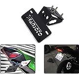 RANSOTO Motorsports Fender Eliminator Kit Compatible with Kawasaki Ninja 400 2018 2019 (Black)