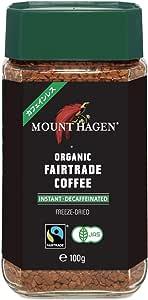 マウントハーゲン オーガニック フェアトレード カフェインレスインスタントコーヒー100g インスタント