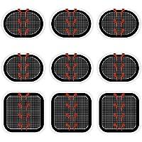 Coomatec スレンダートーン対応 EMS互換交換パッド スレンダートーン 交換パッド3枚*3セット (正面用 3枚 + 脇腹用6枚)