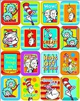 Eureka Dr. Seuss Lenticular Stickers [並行輸入品]