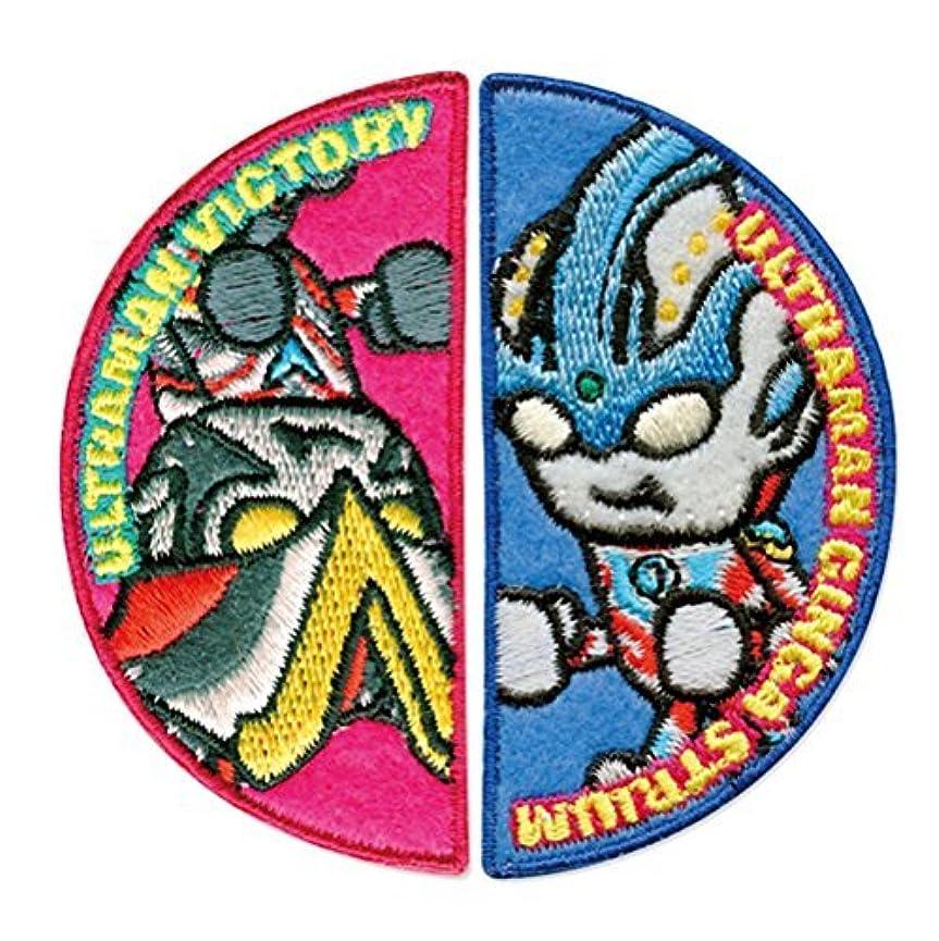 耐久フレームワーク評論家ウルトラマンシリーズbyパンソンワークスワッペン「ギンガストリウム&ビクトリー」