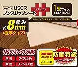 ノンスリップシート ++(ダブルプラス) 超厚手8mm厚 1畳用 防音 スベリ止め U-Q448