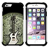 Graphic4You Carlino Guitar Art Case Design 衝撃吸収ケース Apple iPhone 7 Plus/iPhone 8 Plus