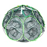 MIRACLE 【 大漁捕穫 】 釣り用 隠し球 十二手網 改 海 蟹 海老 道具 カニ エビ 魚 網 フィッシング MC-AMI003-12
