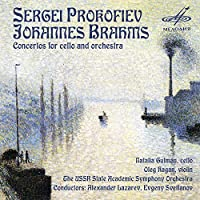 Prokofiev & Brahms: Concertos for Cello & Orchestra by Natalia Gutman