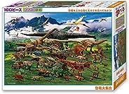 ビバリー 100ピースジグソーパズル 恐竜大集合(26×38cm) 100-022