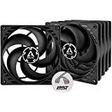 ARCTIC P14 PWM PST Value Pack - 140 mm Case Fan with PWM Sharing Technology (PST), Five Pack, Pressure-optimised, Computer, F