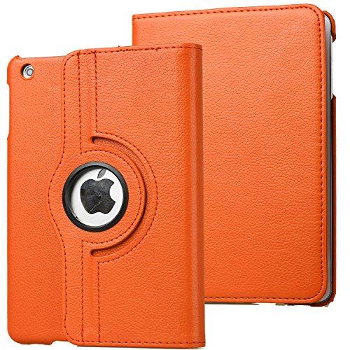 Chrysansmile iPad Mini1/2/3ケース アイパッドミニ1/2/3/カバー  iPadケース  360度回転 スタンド付き 軽量型