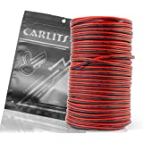 CARLITS 20AWG 66ft Extension Cable Wire Cord for Led Strips 20M Single Colour 3528 5050