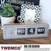 BQ-38 WALL&TABLE CLOCK(クロック) TWEMCO(トゥエンコ) GRAY