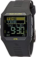 RIP CURL Men's A111912881SZ Year-Round Digital Black Watch