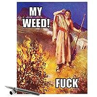 Moses ' Weed all-occasion Joke用紙カード 1 Jumbo Birthday Card & Enve. (J4300)