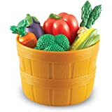 Learning Resources New Sprouts Bushel of Veggies, 9 Colorful Veggies,  for Kids, Ages 18 mos+