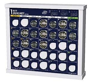 トライエックス 卓上 ザ・10万円カレンダー 2019年 カレンダー CL-592 卓上 23×26cm 貯金箱