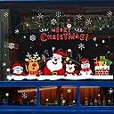 Takarafune クリスマス ウォールステッカー クリスマス シール インテリア トナカイ 店舗用 クリスマス 飾り サンタ 雪だるま