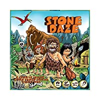 Tyto Games Stone Daze Primal Family Fun Strategy Board Game [並行輸入品]