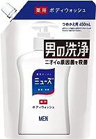 【医薬部外品】ミューズメン ボディーウオッシュ 詰め替え 450ml ボディソープ 消臭