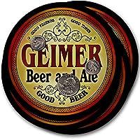 Geimerビール& Ale–4パックドリンクコースター