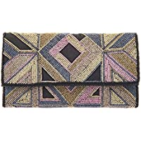 From St Xavier Women's Edna Clutch, Multicolour, One Size